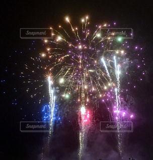 夜空の花火3の写真・画像素材[941168]