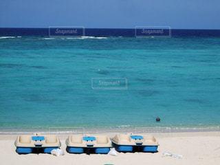 砂浜のボートの写真・画像素材[957269]