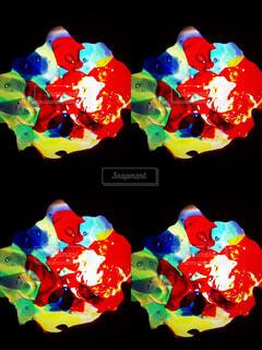 カラフルな琉球ガラスの写真・画像素材[957362]