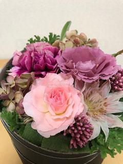 ピンクの花の花束の写真・画像素材[941152]