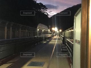 静寂の線路の写真・画像素材[959794]