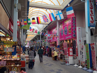 石垣島の商店街の写真・画像素材[941223]