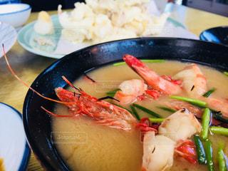 海老の味噌汁の写真・画像素材[941385]
