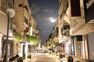 元町商店街の夜中3時の写真・画像素材[941389]