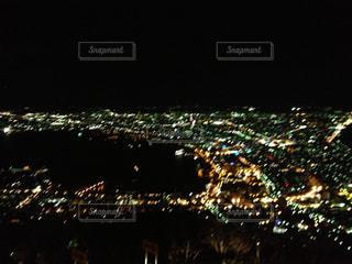 夜の大群衆の写真・画像素材[941335]