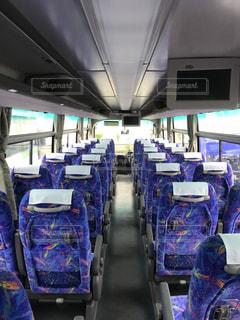 高速バスの車内の写真・画像素材[1471192]