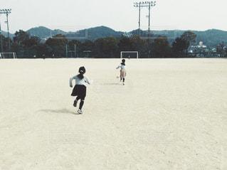 女子サッカーの写真・画像素材[1025141]