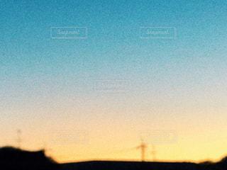 夕焼けの街並みの写真・画像素材[1696950]