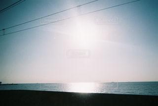 電車の中から見える景色の写真・画像素材[944431]