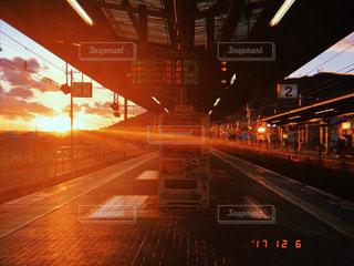 夕方の風景の写真・画像素材[945391]