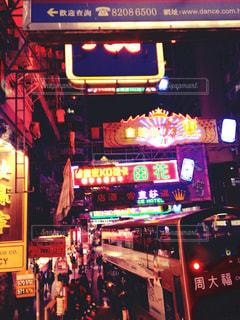 夜の街の写真・画像素材[942877]