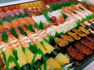 出前の寿司の写真・画像素材[943638]