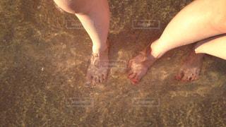 海と足の写真・画像素材[942588]