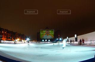 臨時スケートリンクの写真・画像素材[959929]