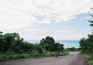 未舗装路の写真・画像素材[1086863]