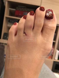 左足負傷の写真・画像素材[943204]