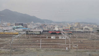 博多駅からの車庫の写真・画像素材[942551]