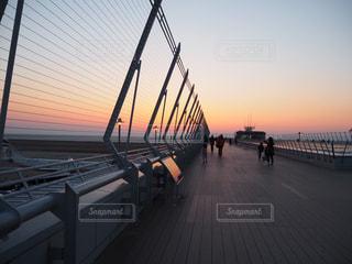 セントレアの夕日の写真・画像素材[943091]