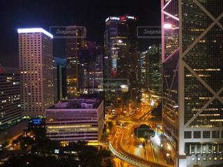 香港の夜景の写真・画像素材[944110]