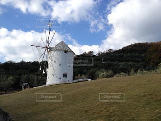 小豆島の風車の写真・画像素材[944193]