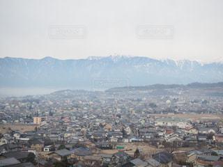 松本の朝の写真・画像素材[946721]