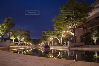 夜の街並みの写真・画像素材[945189]