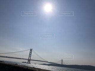 明石海峡大橋ー神戸側より!の写真・画像素材[1007959]