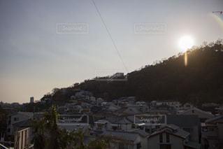 街並みの陰影の写真・画像素材[1007961]