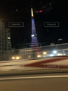 夜の東京タワーの写真・画像素材[943349]