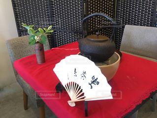 テーブル茶道の写真・画像素材[948051]