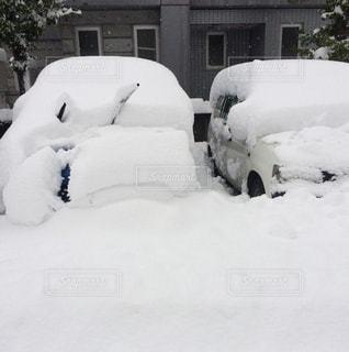 雪に覆われた車 - No.943537