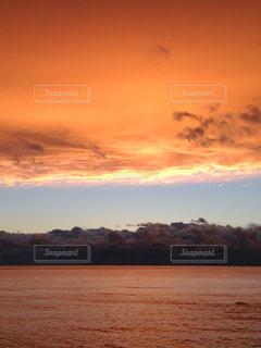 海の夕暮れの写真・画像素材[950449]