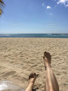 ビーチでのんびりの写真・画像素材[943768]