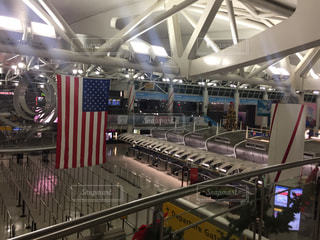 ニューヨークの空港にての写真・画像素材[943771]