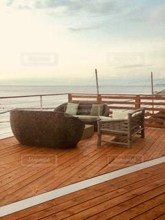 水体の木製ボート - No.943995