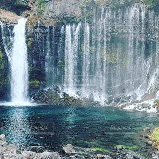 白糸の滝の写真・画像素材[944725]