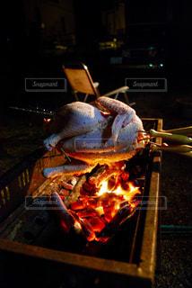 鶏の丸焼きの写真・画像素材[944623]