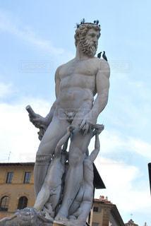 イタリアの銅像の写真・画像素材[946613]