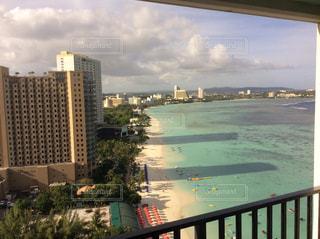 グアムのリゾートホテルからの景色 - No.944403
