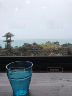 雨の海の写真・画像素材[945321]
