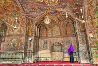 ラホールのモスクにての写真・画像素材[3382037]