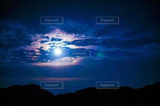 月夜の写真・画像素材[946345]