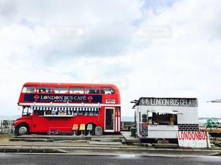 ロンドンバスカフェの写真・画像素材[958549]