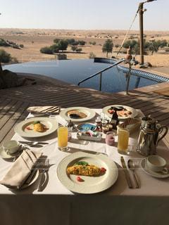 リゾート朝食の写真・画像素材[2292699]
