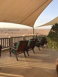 砂漠のリゾートの写真・画像素材[2292709]