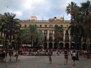 バルセロナの広場 - No.951348