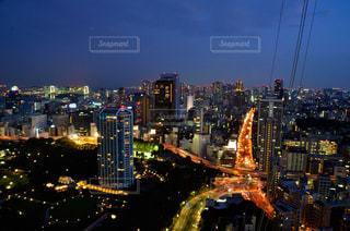 東京タワーからの風景です。の写真・画像素材[1096900]