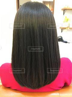 黒髪ロングの写真・画像素材[947262]