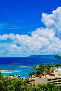 グアムの海の写真・画像素材[1415880]