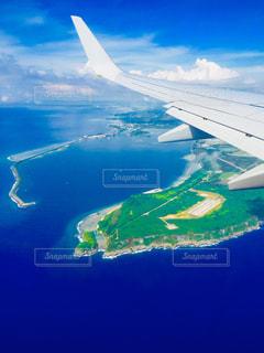 飛行機から撮影 グアムの写真・画像素材[1415914]